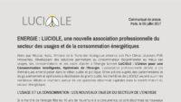 Création de l'association Luciole