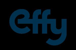 Ceci représente le logo de l'entreprise Effy